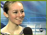 Kimmie Meissner - 2008 World Championships - interview