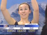 Kimmie Meissner - 2007 Four Continents Championships - kiss 'n cry